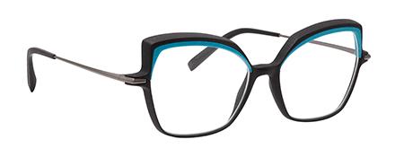 Optique impression 3D haute résolution vm l atelier créateur monture femme turquoise