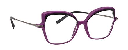 Optique impression 3D haute résolution vm l atelier créateur monture femme violette