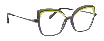 Optique impression 3D haute résolution vm l atelier créateur monture femme vert anis